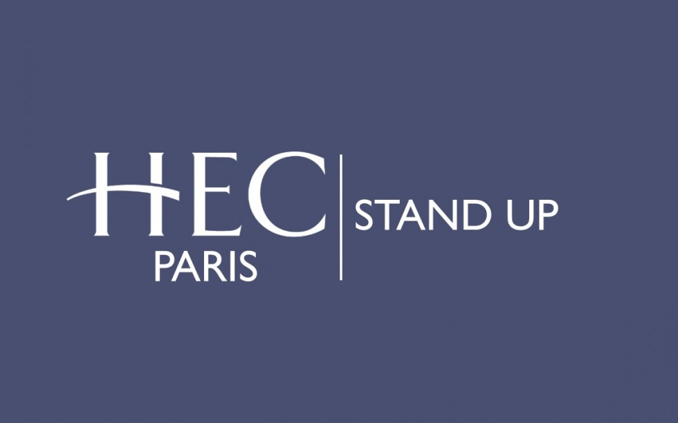 Logo HEC Stand up